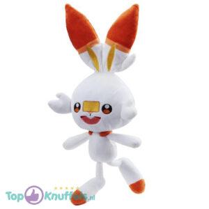 Pokémon Pluche Knuffel Scorbunny 25 cm