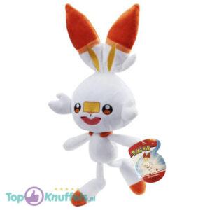 Scorbunny Pokémon Pluche Knuffel 42 cm