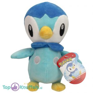Pokemon Pluche Piplup Knuffel 25 cm
