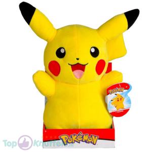 Pokémon Pluche Knuffel - Pikachu Happy 32 cm