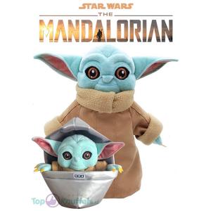 Yoda knuffel set (2 stuks)