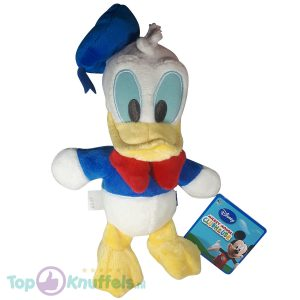Donald Duck pluche knuffel 24cm - Disney Clubhouse