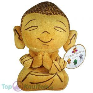 Boeddha Pluche Knuffel Goud 30 cm