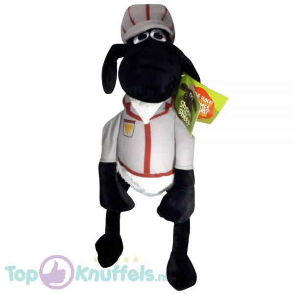 Shaun the Sheep Pluche Knuffel Grijs Uniform 45 cm