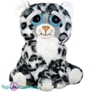 Feisty Pets Sneeuw Luipaard Pluche Knuffel 25 cm