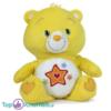 Care Bears Pluche Knuffel Geel 22 cm