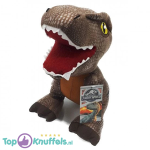 Jurassic Park Pluche Knuffel Bruin T-Rex 30 cm