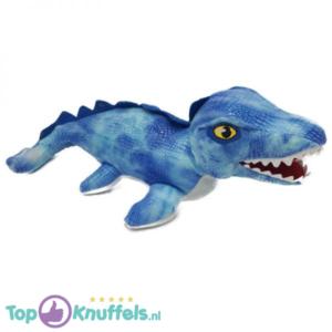 Jurassic Park Pluche Knuffel Lichtblauw Mosasaurus 35 cm