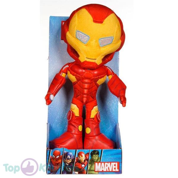 Marvel Avengers Mighty Iron Man Pluche Knuffel 30 cm