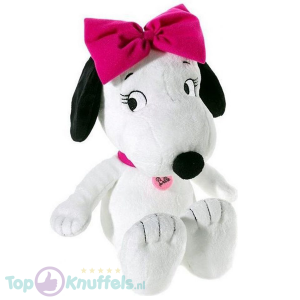 Snoopy Peanuts Belle Hondje Pluche Knuffel 35 cm