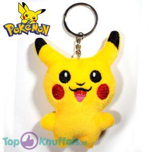 Pikachu Staand Smile Sleutelhanger 8 cm