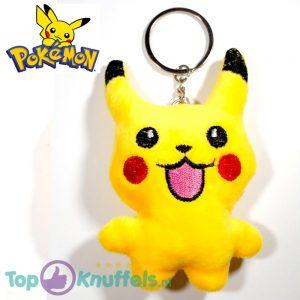 Pikachu Staand Happy Sleutelhanger 8 cm