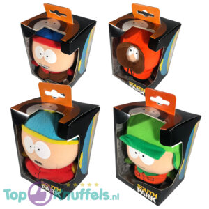 South Park Pluche Knuffel set van 4 (Stan Kenny Cartman Kyle) 15 cm