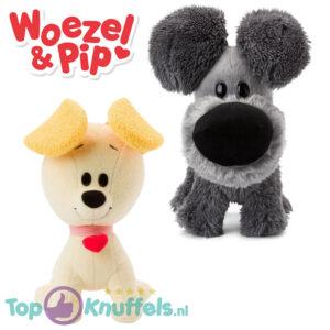 Woezel en Pip knuffel set 27cm