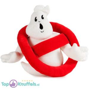 Ghostbusters Logo Pluche Knuffel (Wit) 32 cm