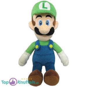 Super Mario Nintendo Luigi Pluche Knuffel 30 cm