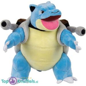 Pokémon Blastoise Mondje Open Pluche Knuffel 30 cm