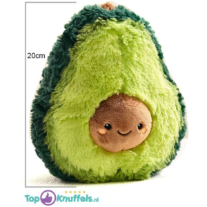 Avocado Pluche Knuffel (Groen) 20 cm