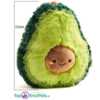 Avocado Pluche Knuffel (Groen) 25 cm