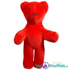 Knuffelbeer Pluche Knuffel Rood 18 cm