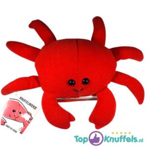 Krab Knuffelboekje (Knip de Krab 15 cm)