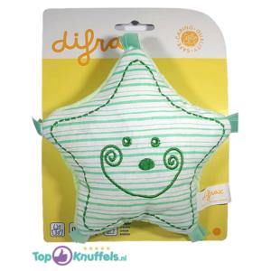 Pluche Knuffel Ster voor Baby (Groen) 15 cm