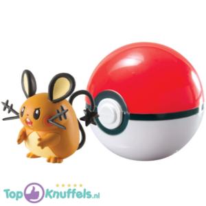 Pokemon Speelgoed Dedenne + Pokeball Rood