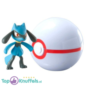 Pokemon Speelgoed Riolu + Pokeball Wit