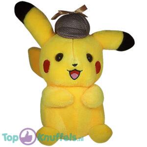 Pokemon Detective Pikachu Happy Pluche Knuffel 30 cm