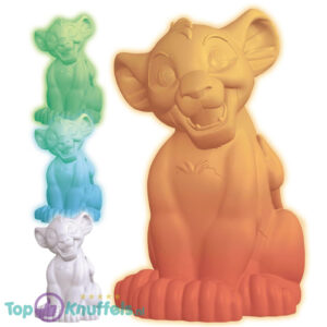Disney Lion King Simba LED Nachtlamp Multi-Color 14 cm