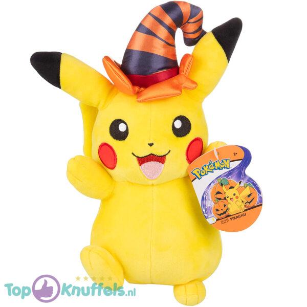 Pokemon Pikachu met Toverhoed Pluche Knuffel 21 cm