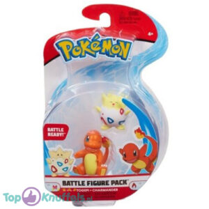 Pokemon Battle Figure Togepi + Charmander (Speelfiguur)
