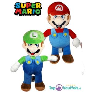 Super Mario Pluche Knuffel Set (Mario + Luigi) 22cm