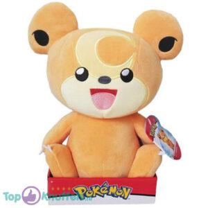 Pokemon Teddiursa Pluche Knuffel 32 cm