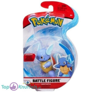 Pokemon Battle Figure Wartortle (Speelfiguur)