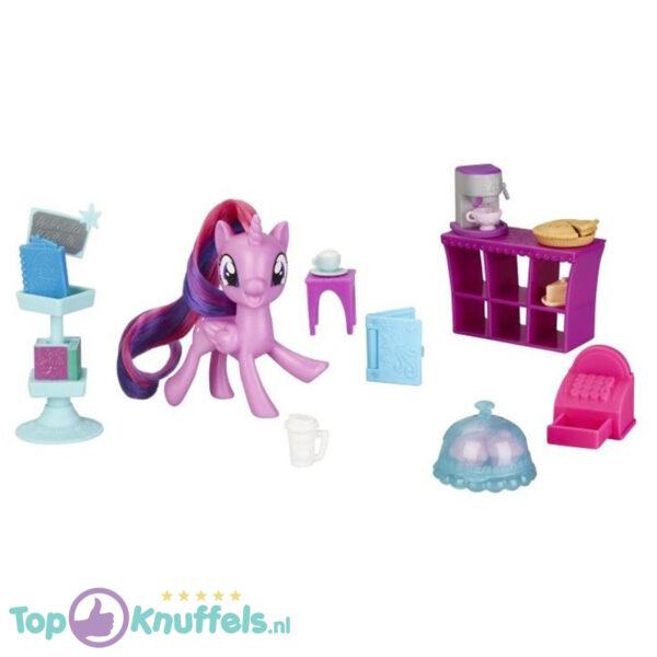 My Little Pony On The Go Twilight Sparkle met toebehoren 8 cm