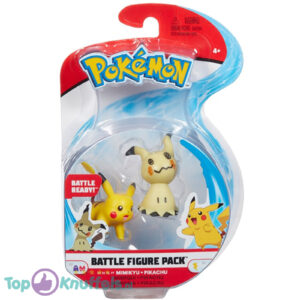 Pokemon Battle Figure Mimikyu + Pikachu (Speelfiguur)