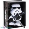 Disney Star Wars Black Line Pluche Knuffel Stormtrooper 25 cm (Incl. Displaydoos)