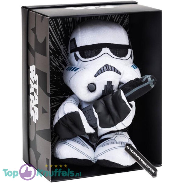 Disney Star Wars Black Line Pluche Knuffel Stormtrooper 25 cm (Incl. Displaydoos)