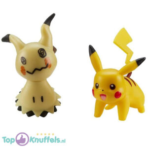 Pokemon Battle Figure Mimikyu + Pikachu (Speelfiguur)