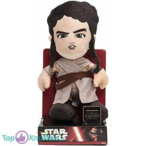 Disney Star Wars Rey Pluche Knuffel + Displaydoos 30 cm