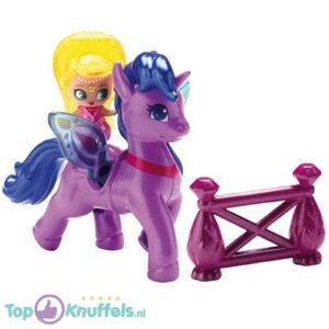 Nickelodeon Shimmer & Shine Zahracorn (Paars/Blauw) Eenhoorn (Speelfiguur/Speelgoed)