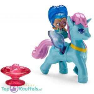 Nickelodeon Shimmer & Shine Zahracorn (Blauw) Eenhoorn (Speelfiguur/Speelgoed)