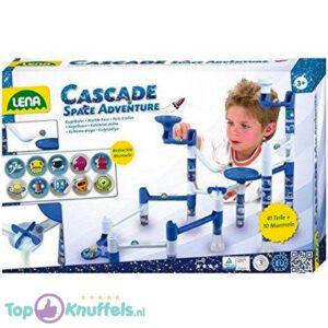 Cascade Space Adventure Knikkerbaan voor kinderen (Speelgoed)