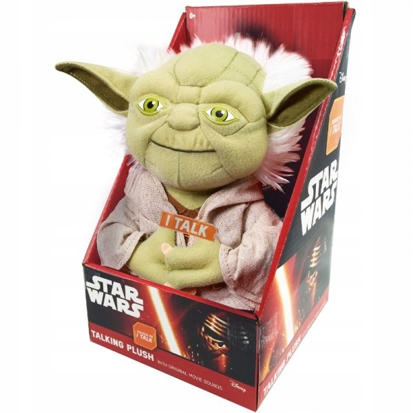 Star Wars (The Force Awakens) Pluche Knuffel Yoda + Geluid uit de film!