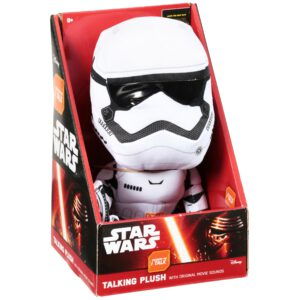 Star Wars (The Force Awakens) Pluche Knuffel Storm Trooper + Geluid uit de film!