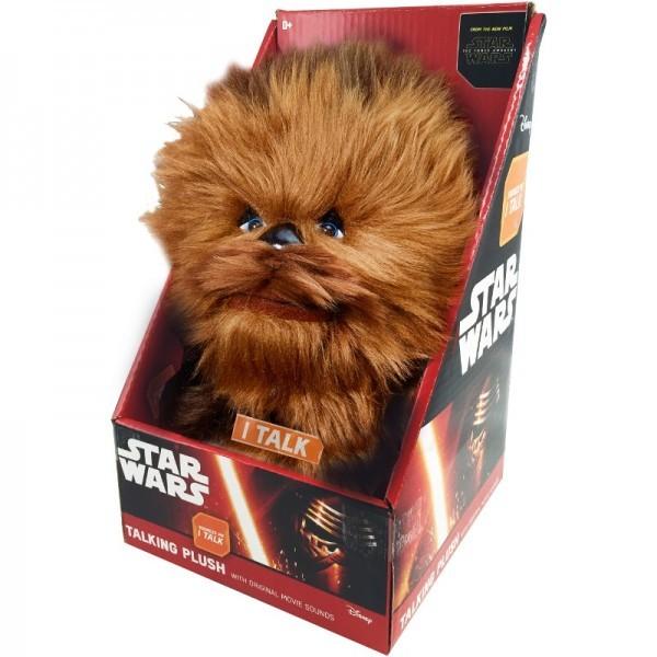 Star Wars (The Force Awakens) Pluche Knuffel Chewbacca + Geluid uit de film!