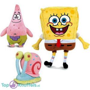 SpongeBob SquarePants Pluche Knuffel Set van 3! (20 cm)