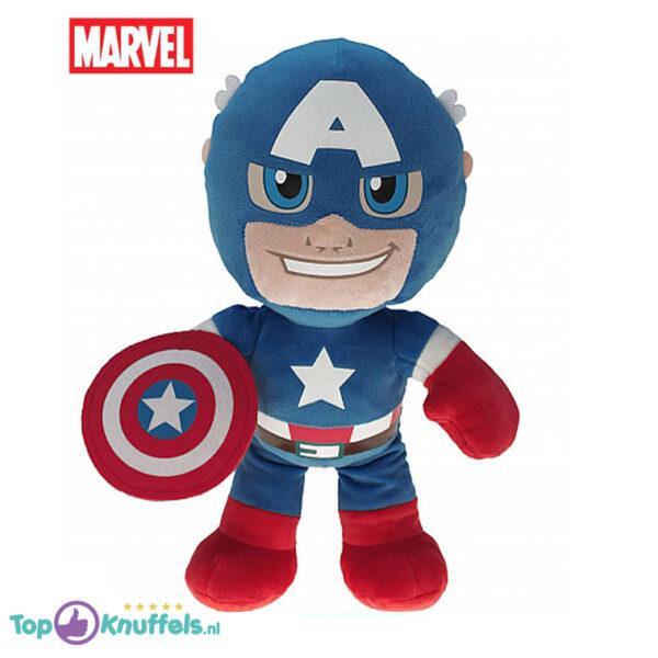 Marvel Avengers Pluche Knuffel Captain America 22 cm