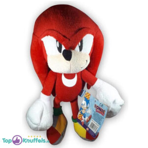 Pluche Knuckles Knuffel (Sonic The Hedgehog) 34 cm